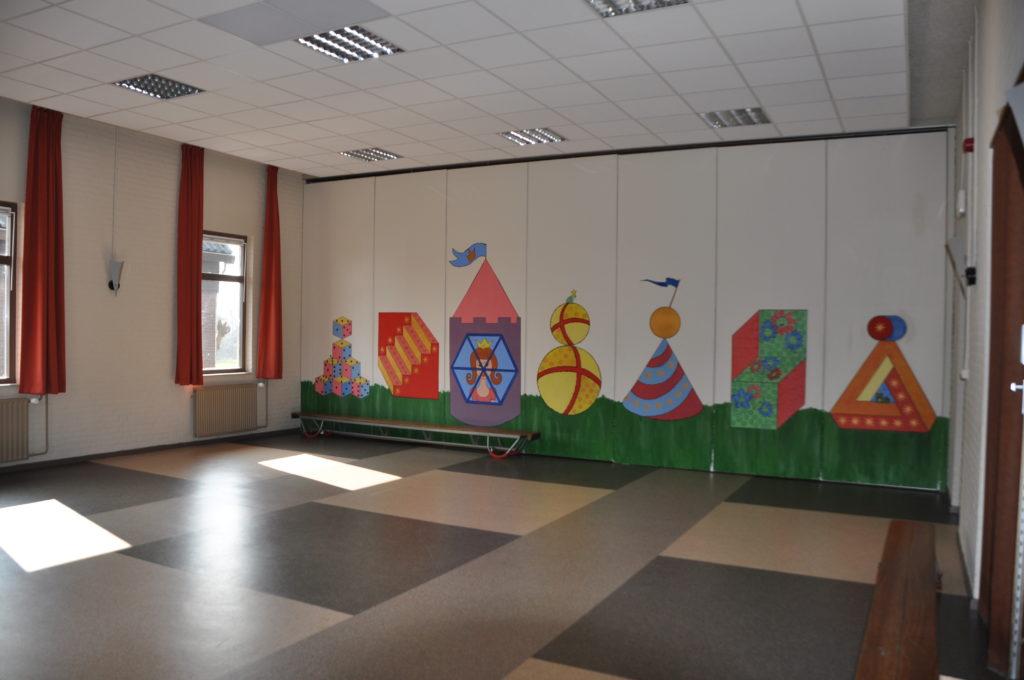 Grote zaal, peuterspeelzaalzijde